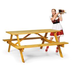 Picknickset- 2 bänke, 1 tisch