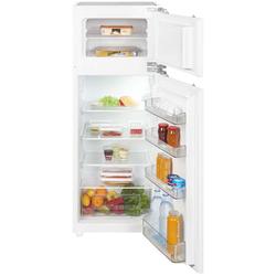 Einbau Kühlschrank Gefrierfach mit Festtürtechnik in 144 cm Nische weiß 214L