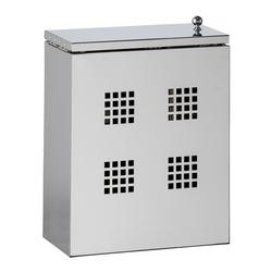 Putzmittelbehälter aus Edelstahl grau Küchen-Ordnungshelfer Küchenhelfer Küche Haushaltshelfer