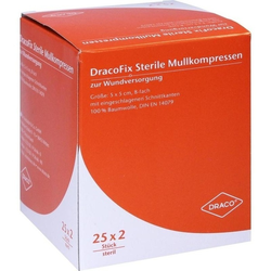 DRACOFIX PEEL KOM steril 5X5 8fach