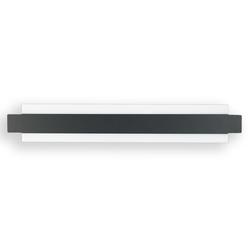 Fabas Luce LED-Wandleuchte Regolo in schwarz, 60 cm