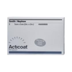 ACTICOAT 5x5 cm antimikrobielle Wundauflage 5 St