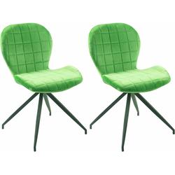 SIT Drehstuhl 2431 in modernen Farben, im 2er-Set grün