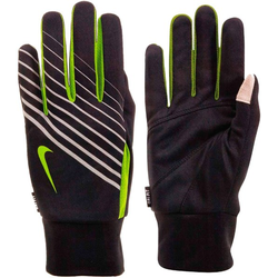 Nike Men's Light Tech Run Gloves - Laufhandschuhe Black/Yellow