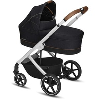 Cybex Balios S Denim Collection Lavastone black inkl. Babywanne