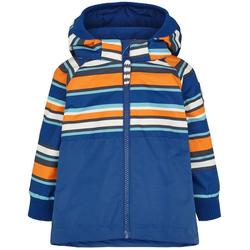 racoon outdoor Regenjacke racoon Outdoor Dirch Stripe Regen-Jacke wasserdichte Kinder Sommer-Jacke Freizeit-Jacke Blau 74