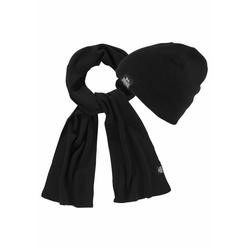 Lonsdale Strickmütze LEAFIELD (Packung, 2-St., mit Schal) Set aus Schal undMütze