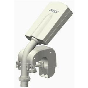 Intex 28089 Multi-Color LED Pool Sprayer Wasserfontäne Pool-Wasserfall Schwalldusche weiß