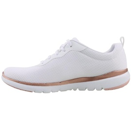 SKECHERS Flex Appeal 3.0 - First Insight white/rose gold 36