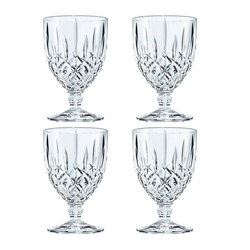 Nachtmann Gläser-Set Noblesse Kelchglas Groß 4er Set, Kristallglas