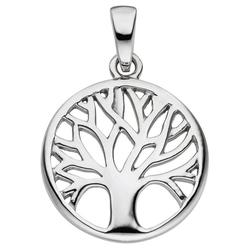 JOBO Kettenanhänger Lebensbaum, 925 Silber