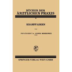 Krampfadern als Buch von Ludwig Moszkowicz
