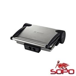 Bosch TFB4431V Grill Tisch Elektro 2000W Schwarz, Edelstahl Barbecue &, Grill