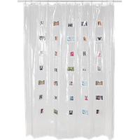 Fujifilm Instax Shower Curtain Mini 183x200 cm