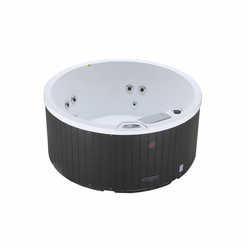 Canadian Spa Terrassenwhirlpool Okanagan Plug & Play