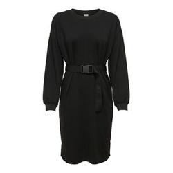 ONLY Gürtel Kleid Damen Schwarz Female XS