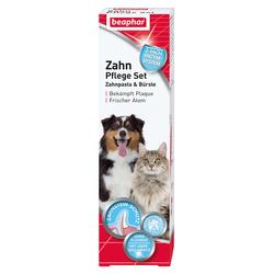 Beaphar Zahnpflege Set (Zahnpasta & Bürste) für Hunde