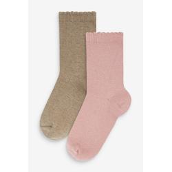Next Kurzsocken Socken mit Kaschmir, 2er-Pack (2-Paar)