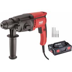 Flex, Bohrmaschine + Schlagbohrmaschine, SDS+ Bohrhammer FHE 2-22 + Bohrer-Set & L-Boxx Koffer