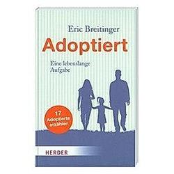 Adoptiert. Eric Breitinger  - Buch