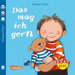 Baby Pixi (unkaputtbar) 41: VE 5 Das mag ich gern als Buch von Miriam Cordes