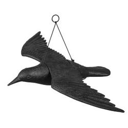 Vogelschreck Vogelabwehr Rabe 61/44/13cm Bradas 8052