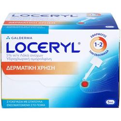 LOCERYL 50 mg/ml Nagell.gg.Nagelp.DIREKT-Applikat. 5 ml