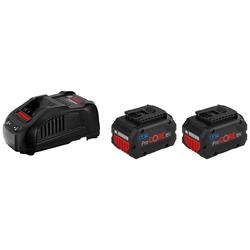 Bosch Professional 2 x ProCORE 18 V 5.5 Ah + GAL 1880 CV Professional Akku-Set (3 St)