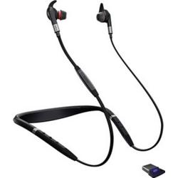 Jabra Evolve 75e UC Telefon-Headset Bluetooth schnurlos In Ear Schwarz