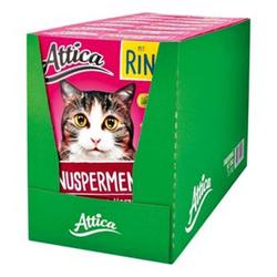 Attica Katzenfutter Knuspermenü Rind 1 kg, 7er Pack