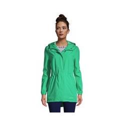 Wasserdichte Regenjacke mit Packfach - S - Grün