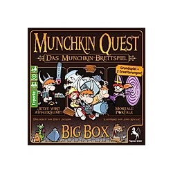 Munchkin Quest: Das Brettspiel  2. Edition (Spiel)