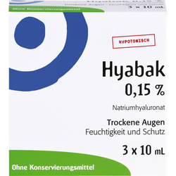 HYABAK Augentropfen 30 ml