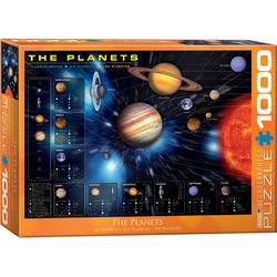 empireposter Puzzle Die Planeten unseres Sonnensystems - 1000 Teile Puzzle im Format 68x48 cm, 1000 Puzzleteile