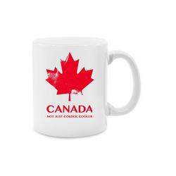 Shirtracer Tasse Canada Vintage Not just colder cooler - Länder - Tasse zweifarbig - Tassen, kanada tasse