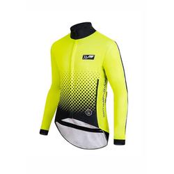 prolog cycling wear Fahrradjacke mit innen angerautem Thermoflausch
