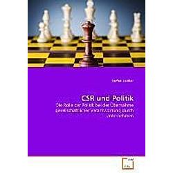 CSR und Politik. Stefan Zeidler  - Buch