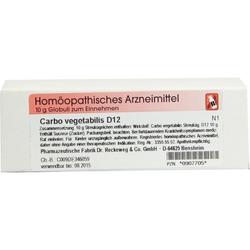 Carbo vegetabilis D12