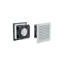 ARLI Gehäuselüfter ARLI Schaltschrank Lüfter 160 x 160 cm - 100m³/h (Filterlüfter einbaufertig mit Filtermatte)