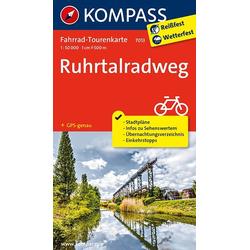 Ruhrtalradweg 1 : 50 000