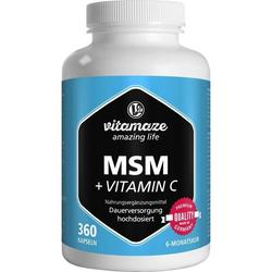 MSM hochdosiert + Vitamin C