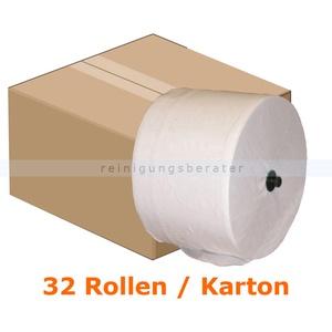 Toilettenpapier JM Metzger Cosmos 2-lagig passendes Toilettenpapier 1060 Blatt, 32 Rollen/VE