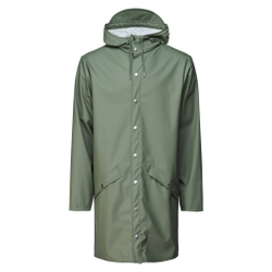Rains - Long Jacket Olive - Jacken - Größe: S/M