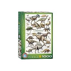 Dinosaurier der Kreidezeit (Puzzle)