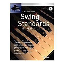 Swing Standards  für Klavier  m. Audio-CD - Buch