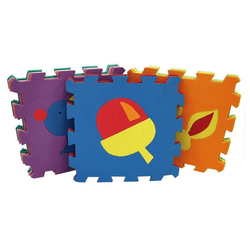 Natsen Puzzlematte, Puzzleteile, Kinderfreundlich Bodenmatte Puzzlematte Spielteppich Kinderteppich Spielmatte Lernteppich