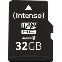 Intenso microSDHC 32GB Class 10 + SD-Adapter
