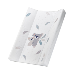 Rotho Babydesign Wickelauflage Keilwickelauflage, 50 x 70 cm, Koala weiß