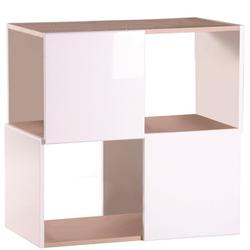 PHOENIX MÖBEL Regal Matrix, B/H/T: 71,6x73,1x37,3 cm grau