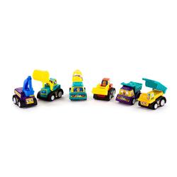 6 Spielzeugautos Mini Spielzeug Autos Baustellen Auto Set für Kinder Kleinkinder ab 3 Jahren